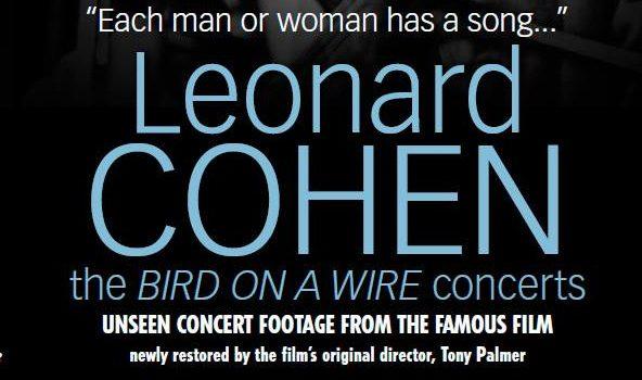 "Показ прем'єри ""Leonard Cohen  in concert"""