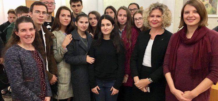 Студенти-прикладники зустрілись із секретарем посольства Великої Британії