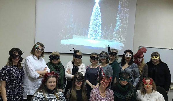 Happy New Year from Applied Linguistics teachers and students!