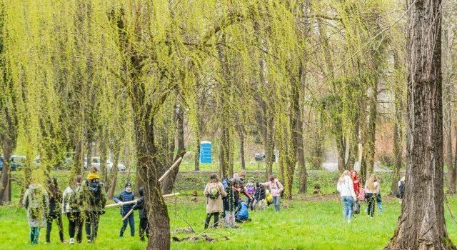 """Студенти та викладачі кафедри взяли участь у навчально-благодійному марафоні """"Tree Evolution"""""""